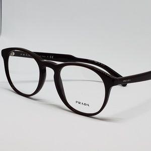 Prada RX New Authentic Eyeglasses   burgundy